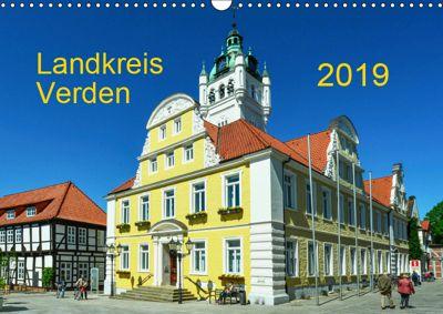 Landkreis Verden (Wandkalender 2019 DIN A3 quer), Heinz Wösten