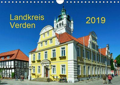 Landkreis Verden (Wandkalender 2019 DIN A4 quer), Heinz Wösten