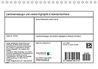 Landmannalaugur und weitere Highlights in Islands Hochland (Tischkalender 2019 DIN A5 quer) - Produktdetailbild 13