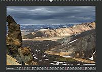 Landmannalaugur und weitere Highlights in Islands Hochland (Wandkalender 2019 DIN A2 quer) - Produktdetailbild 10