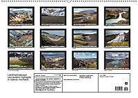 Landmannalaugur und weitere Highlights in Islands Hochland (Wandkalender 2019 DIN A2 quer) - Produktdetailbild 13