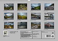 Landscapes of Highlands (Wall Calendar 2019 DIN A3 Landscape) - Produktdetailbild 1