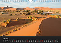 Landscapes of Namibia / UK-Version (Wall Calendar 2019 DIN A4 Landscape) - Produktdetailbild 4