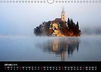 Landscapes of Slovenia (Wall Calendar 2019 DIN A4 Landscape) - Produktdetailbild 1