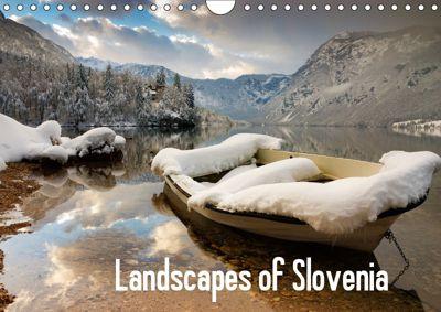 Landscapes of Slovenia (Wall Calendar 2019 DIN A4 Landscape), Ian Middleton