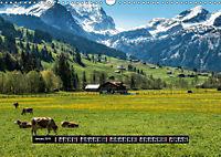Landscapes of Swiss Alps (Wall Calendar 2019 DIN A3 Landscape) - Produktdetailbild 1