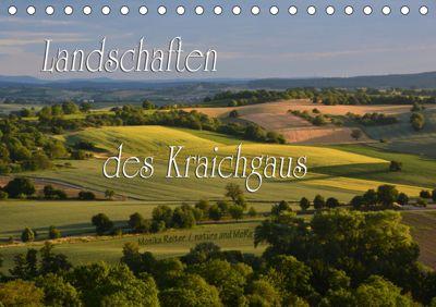 Landschaften des Kraichgaus (Tischkalender 2019 DIN A5 quer), Monika Reiter