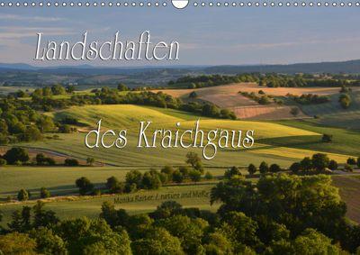 Landschaften des Kraichgaus (Wandkalender 2019 DIN A3 quer), Monika Reiter