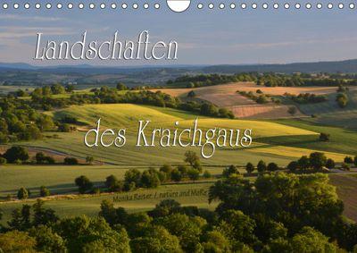 Landschaften des Kraichgaus (Wandkalender 2019 DIN A4 quer), Monika Reiter
