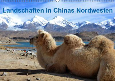 Landschaften in Chinas Nordwesten (Wandkalender 2019 DIN A2 quer), Ulrike Lindner