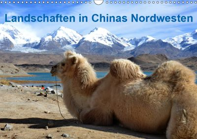 Landschaften in Chinas Nordwesten (Wandkalender 2019 DIN A3 quer), Ulrike Lindner
