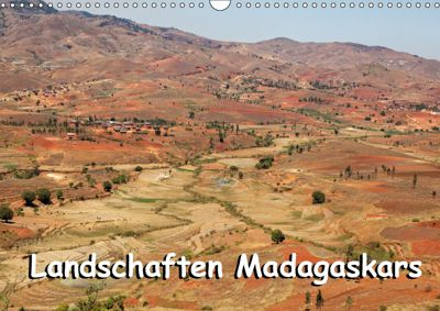 Landschaften Madagaskars (Wandkalender 2019 DIN A3 quer), Willy Brüchle