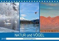 Landschaften und Vögel (Tischkalender 2019 DIN A5 quer), BIA birdimagency