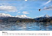 Landschaften und Vögel (Wandkalender 2019 DIN A3 quer) - Produktdetailbild 3