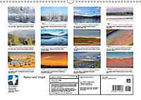 Landschaften und Vögel (Wandkalender 2019 DIN A3 quer) - Produktdetailbild 13