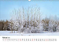 Landschaften und Vögel (Wandkalender 2019 DIN A3 quer) - Produktdetailbild 2