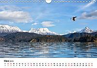 Landschaften und Vögel (Wandkalender 2019 DIN A4 quer) - Produktdetailbild 3