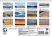 Landschaften und Vögel (Wandkalender 2019 DIN A4 quer) - Produktdetailbild 13