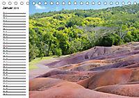 Landschaftsfarben - Geburtstagskalender (Tischkalender 2019 DIN A5 quer) - Produktdetailbild 1