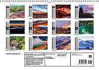 Landschaftsfarben - Geburtstagskalender (Wandkalender 2019 DIN A3 quer) - Produktdetailbild 13