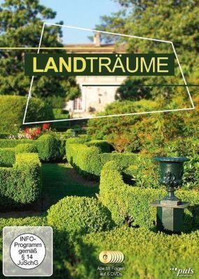 Landträume, 6 DVDs, Holger Preuße, Sabine Hanke, Hanna Leissner, Peter Podjavorsek, Claus Wischmann, Kristian Kähler
