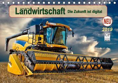 Landwirtschaft - die Zukunft ist digital (Tischkalender 2019 DIN A5 quer), Peter Roder