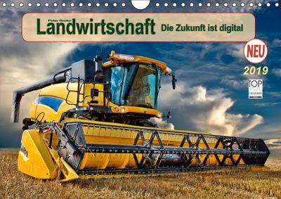 Landwirtschaft - die Zukunft ist digital (Wandkalender 2019 DIN A4 quer), Peter Roder