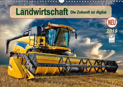 Landwirtschaft - die Zukunft ist digital (Wandkalender 2019 DIN A3 quer), Peter Roder