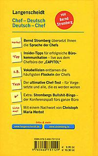 Langenscheidt - Chef-Deutsch / Deutsch-Chef - Produktdetailbild 2