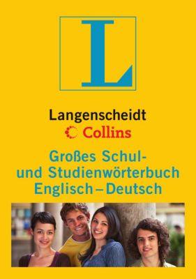 Langenscheidt Collins Grosses Schul- und Studienwörterbuch Englisch-Deutsch