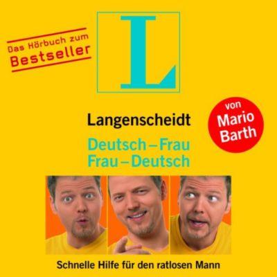 Langenscheidt Hörbücher: Langenscheidt Deutsch-Frau/Frau-Deutsch, Mario Barth