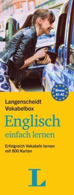 Langenscheidt Vokabelbox Englisch einfach lernen