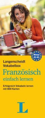 Langenscheidt Vokabelbox Französisch einfach lernen, Redaktion Langenscheidt
