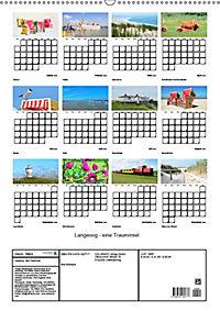 Langeoog - eine Trauminsel (Wandkalender 2019 DIN A2 hoch) - Produktdetailbild 13