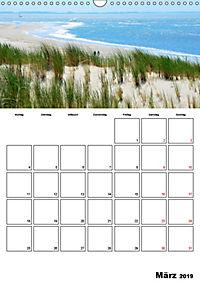 Langeoog - eine Trauminsel (Wandkalender 2019 DIN A3 hoch) - Produktdetailbild 3