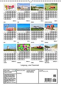 Langeoog - eine Trauminsel (Wandkalender 2019 DIN A3 hoch) - Produktdetailbild 13