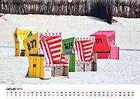 Langeoog - Sommer, Sonne, Strand (Wandkalender 2019 DIN A2 quer) - Produktdetailbild 1