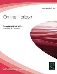 Language and Economics