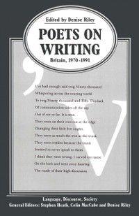 Language, Discourse, Society: Poets on Writing