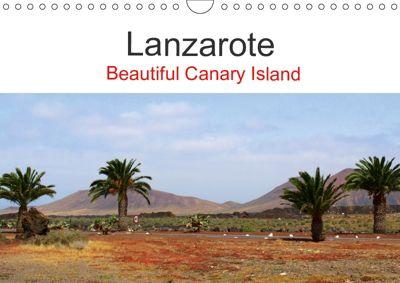 Lanzarote Beautiful Canary Island (Wall Calendar 2019 DIN A4 Landscape), Reinalde Roick