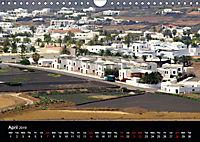 Lanzarote Beautiful Canary Island (Wall Calendar 2019 DIN A4 Landscape) - Produktdetailbild 4