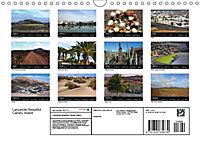 Lanzarote Beautiful Canary Island (Wall Calendar 2019 DIN A4 Landscape) - Produktdetailbild 13