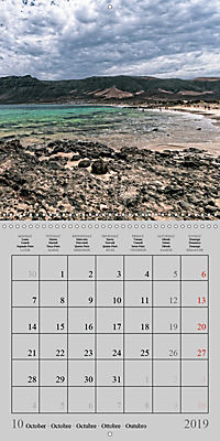 LANZAROTE Created by Volcanoes (Wall Calendar 2019 300 × 300 mm Square) - Produktdetailbild 10