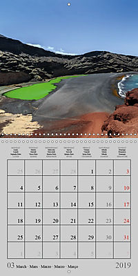 LANZAROTE Created by Volcanoes (Wall Calendar 2019 300 × 300 mm Square) - Produktdetailbild 3