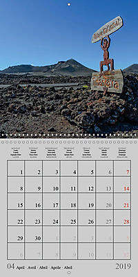 LANZAROTE Created by Volcanoes (Wall Calendar 2019 300 × 300 mm Square) - Produktdetailbild 4