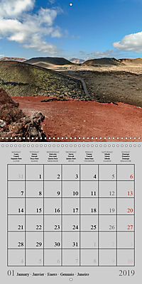 LANZAROTE Created by Volcanoes (Wall Calendar 2019 300 × 300 mm Square) - Produktdetailbild 1
