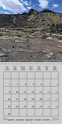 LANZAROTE Created by Volcanoes (Wall Calendar 2019 300 × 300 mm Square) - Produktdetailbild 9