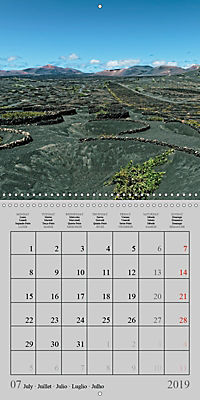 LANZAROTE Created by Volcanoes (Wall Calendar 2019 300 × 300 mm Square) - Produktdetailbild 7