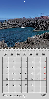 LANZAROTE Created by Volcanoes (Wall Calendar 2019 300 × 300 mm Square) - Produktdetailbild 5