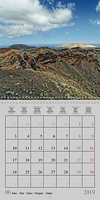 LANZAROTE Created by Volcanoes (Wall Calendar 2019 300 × 300 mm Square) - Produktdetailbild 6
